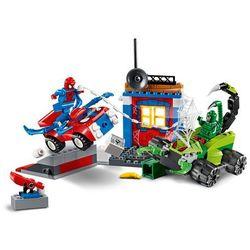 10754 SPIDER-MAN KONTRA SKORPION (Spider-Man vs Scorpion Street Showdown) - KLOCKI LEGO JUNIORS