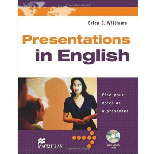 Książki do nauki języka, Presentations In English (opr. miękka)
