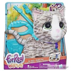 Maskotka interaktywna Furreal Friends Zwierzak na smyczy, Kociak - DARMOWA DOSTAWA OD 199 ZŁ!!!