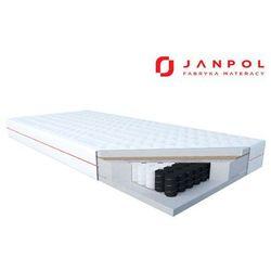 JANPOL DELIA – materac kieszeniowy, sprężynowy, Rozmiar - 90x200, Pokrowiec - Smart WYPRZEDAŻ, WYSYŁKA GRATIS