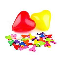 Balony SERDUSZKA 10 szt. - mix kolorów