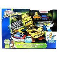 Pojazdy bajkowe dla dzieci, Tomek i Przyjaciele Zakręcona przygoda z robotem zestaw