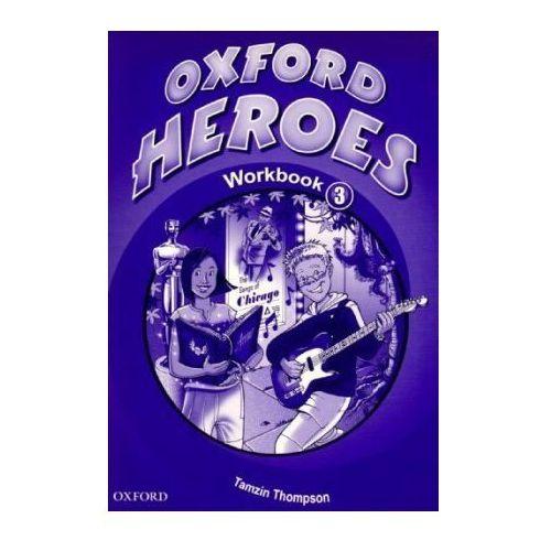 Książki do nauki języka, Oxford Heroes 3 Workbook (opr. miękka)