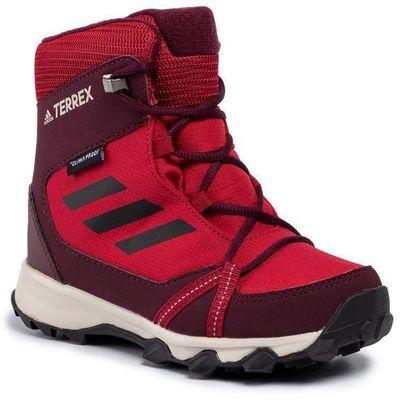 Adidas Buty terrex snow cp cw k g26588 actmarcblackmaroon