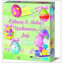 Odlewy gipsowe - jajka ozdoby Wielkanocne