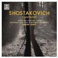 Pozostała muzyka rozrywkowa, SHOSTAKOVICH CANTATAS - Estonian National Symphony Orchestra, Paavo Jarvi (Płyta CD)