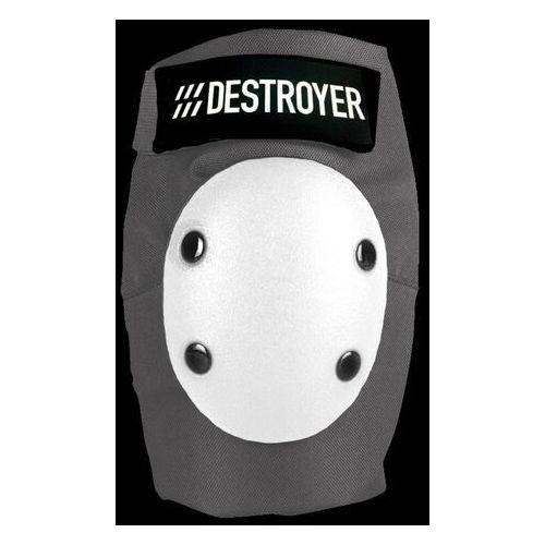 Ochraniacze na ciało, ochraniacze na łokcie DESTROYER - Pro Elbow Grey/White (GRW) rozmiar: S