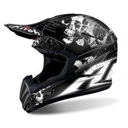 AIROH SWITCH SCARY BLACK MATT Kask Off-road