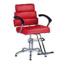 Fotel Fryzjerski Fiore Br-3857 Czerwony