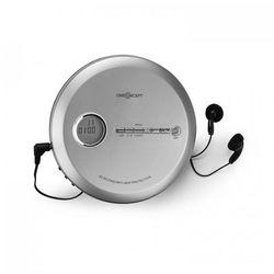OneConcept CDC 100MP3 Discman Odtwarzacz CD ESP Micro-USB srebrny