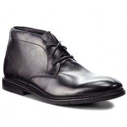 Trzewiki CLARKS - Banbury Mid 261354247 Black Leather