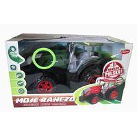 Traktory dla dzieci, Moje Ranczo -Traktor plastikowy. B/O PL 38cm