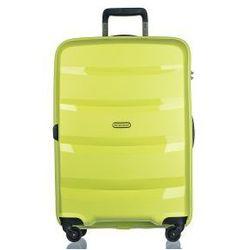 PUCCINI walizka duża PP012 kolekcja ACAPULCO 4 koła materiał polipropylen zamek szyfrowy TSA