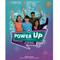 Power Up Level 6 Activity Book with Online Resources and Home Booklet (opr. miękka)