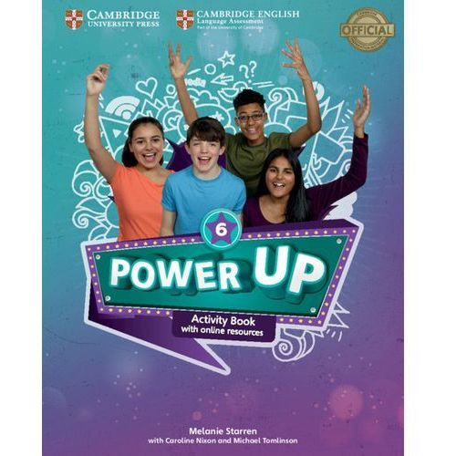 Książki do nauki języka, Power Up Level 6 Activity Book with Online Resources and Home Booklet (opr. miękka)