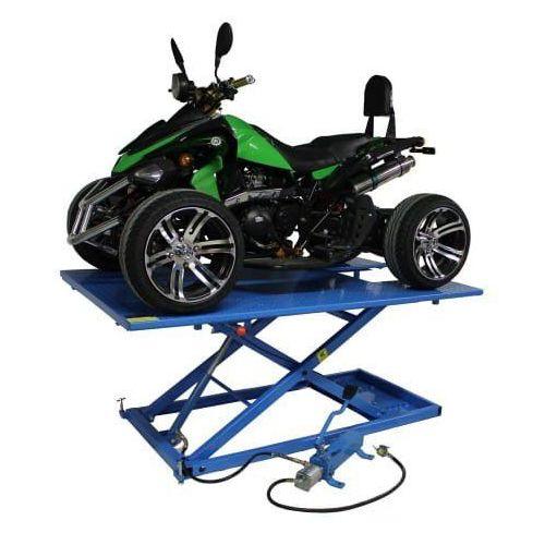 Pozostałe akcesoria do motocykli, Podnośnik do quada hydrauliczno – pneumatyczny krzyżakowy 675 kg - ML75HA