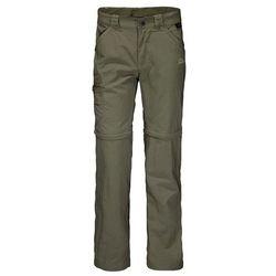 Spodnie SAFARI ZIP OFF PANTS K woodland green - 104