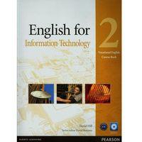Książki do nauki języka, English for IT 2 SB+CD LONGMAN - Maja Olejniczak, David Bonamy (opr. miękka)
