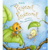 Książki dla dzieci, Pajączek Kędziorek. Jak dobrze mieć rodzeństwo [Amft Diana] (opr. twarda)