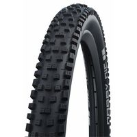 Opony i dętki do roweru, Schwalbe Unisex – opony dla dorosłych Nobby NIC HS602, czarne, 26 cali