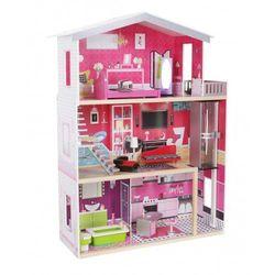 """Drewniany domek dla lalek Barbie """"Rezydencja Malibu"""" z windą"""