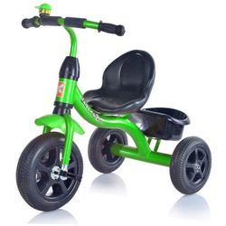 Rowerek KIDZ MOTION Tobi Basic Zielony 3-kołowy