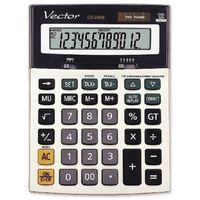 Kalkulatory, Kalkulator Vector CD-2459 - Super Ceny - Kody Rabatowe - Autoryzowana dystrybucja - Szybka dostawa - Hurt - Wyceny