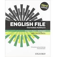 Książki do nauki języka, English File 3E Interm Multipack B + online - Praca zbiorowa (opr. broszurowa)