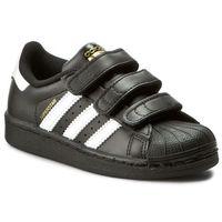 Buty sportowe dla dzieci, Buty adidas - Superstar Foundation CF C B26071 Cblack/Ftwwht/Cblack