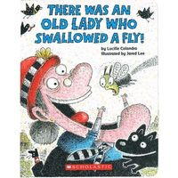 Książki dla dzieci, There was an Lady who swallowed a fly (Board book) (opr. twarda)