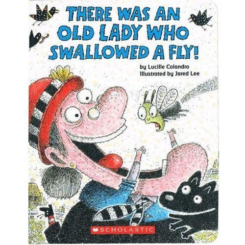 Książki dla dzieci, There was an Lady who swallowed a fly (Board book) (opr. twarda)