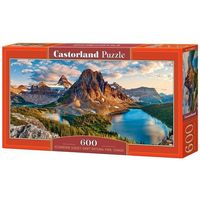 Puzzle, Puzzle 600 Panoramiczne:Assiniboine Sunset, Banff National Park, Canada