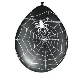 Balony lateksowe Halloweenowe Pająk - 30 cm - 8 szt.