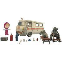 Figurki i postacie, Simba Masza Zestaw Ambulans