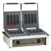 Gofrownice gastronomiczne, Gofrownica elektryczna podwójna do corn dogów 2x1,6 kW Roller Grill GED 80