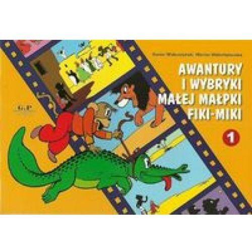 Literatura młodzieżowa, Awantury i wybryki małej małpki Fiki-Miki (opr. miękka)