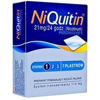 Plastry nikotynowe, NiQuitin plastry 21mg/24h x 7