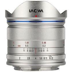 Obiektyw LAOWA Venus Optics C-Dreamer Lightweight 7.5mm f/2.0 Micro 4/3 Srebrny + DARMOWY TRANSPORT!