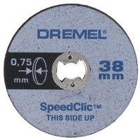 Tarcze do cięcia, Zestaw 5 tarcz Dremel SC409 o średnicy 38 x 075 mm