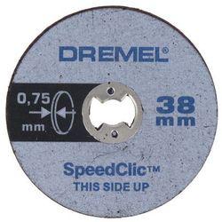 Zestaw 5 tarcz Dremel SC409 o średnicy 38 x 075 mm