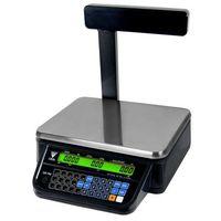 Wagi sklepowe, Waga kalkulacyjna z wysięgnikiem czarna DIGI DS-782PR RS BK
