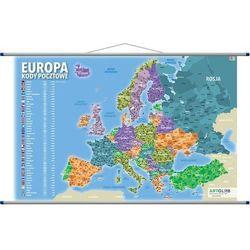 Europa Mapa Ścienna Kody Pocztowe - Praca Zbiorowa