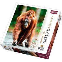 Puzzle, Puzzle 1000 Orangutan, Indonezja - Nature Limited Edition Mother Care