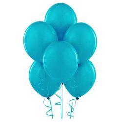 Balony lateksowe pastelowe turkusowe - 12 cali - 100 szt.