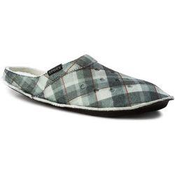 Kapcie CROCS - Classic Plaid Slipper 203683 Black/Oatmeal