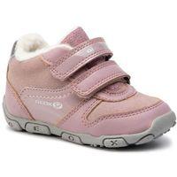 Półbuty i trzewiki dziecięce, Sneakersy GEOX - B Balu' G. B B942ZB 05402 C8360 Old Rose/Silver