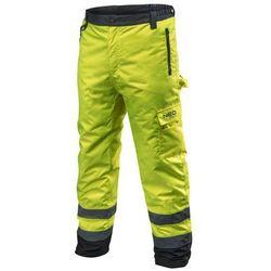 Spodnie robocze ocieplane żółte L NEO