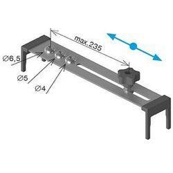 Przyrząd ustawiania nawiertów D42,4x2mm, 40x40x2