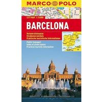 Mapy i atlasy turystyczne, Barcelona mapa 1:15 000 Marco Polo (opr. miękka)