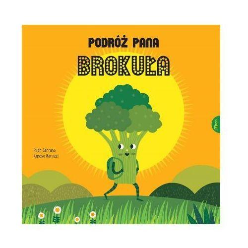 Książki dla dzieci, Podróż Pana Brokuła (opr. twarda)